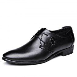 Tide Men Breathable Leisure Business Leather Shoes -