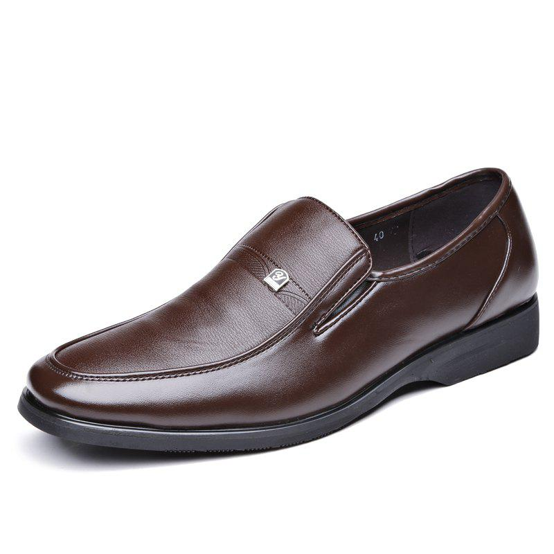 New The Trend of Men'S Leisure Business Leather Shoes