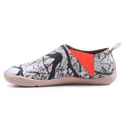 UIN Chaussures pour femmes Grenade Peinte Toile Slip-On Chaussures de Voyage Casual -