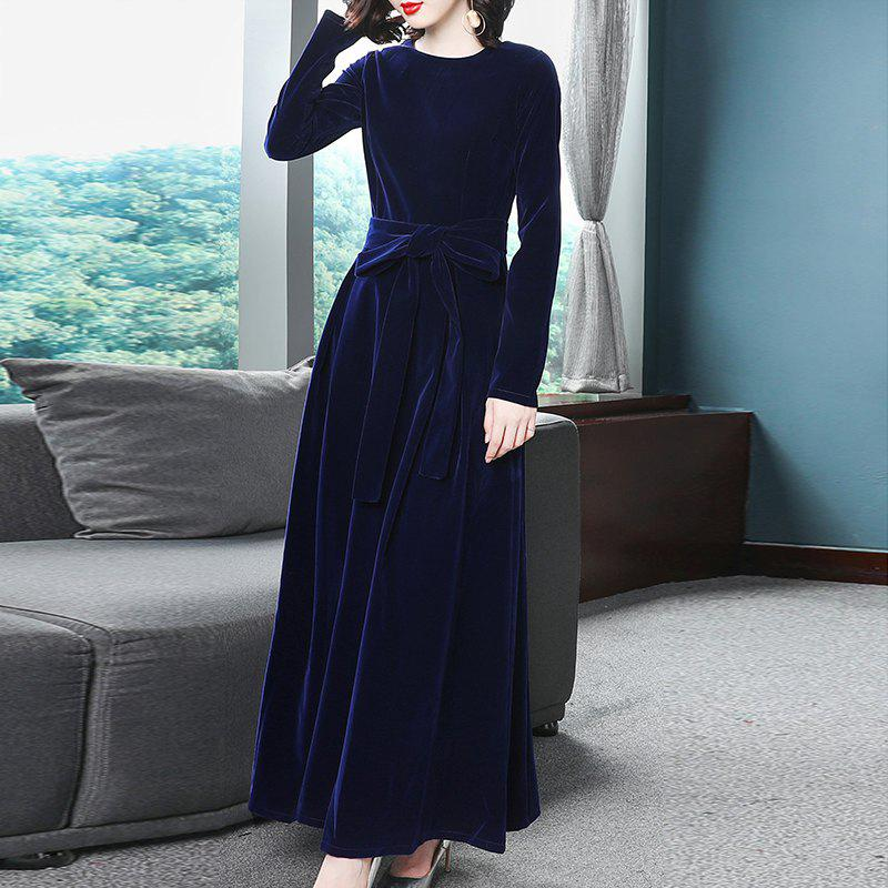 Sale Swagger Temperament Evening Dress Gown