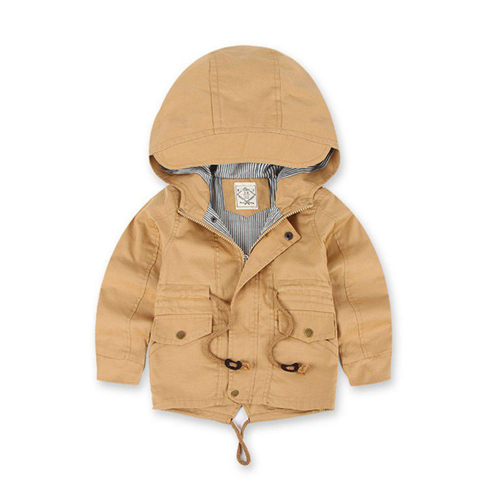 Chic Children Winter Outdoor Fleece Jackets For Boys Clothing Hooded Warm Outerwear
