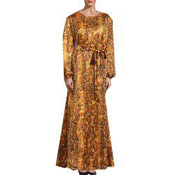 New Long-Sleeved Dress for Autumn and Winter -