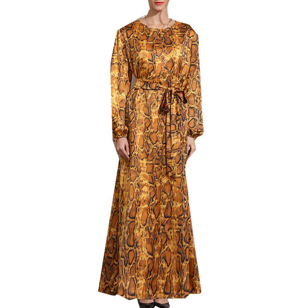 New New Long-Sleeved Dress for Autumn and Winter