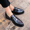Glossy Surface of Lacquer Shoes -