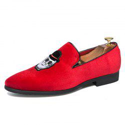 Corduroy Nightclub Men'S Shoes -