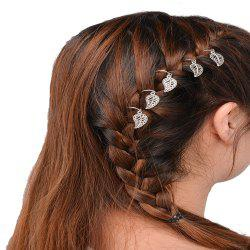 Personalized Casual Hair Accessories DIY Five Gold Or Silver Leaf Headdress -