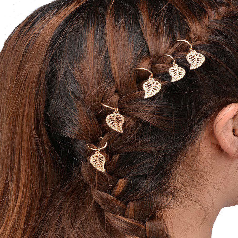 Shops Personalized Casual Hair Accessories DIY Five Gold Or Silver Leaf Headdress