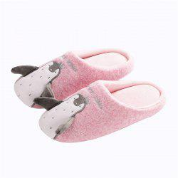 Cartoon Penguin Couples Home Shoe Thick Bottom Anti Skid -