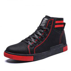 Men'S Simple High-Top Casual Shoes -