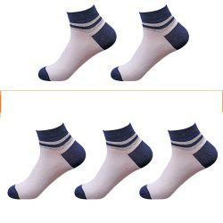 Casual Men Can Wear 5 Pairs of Cotton Socks in Four Seasons -