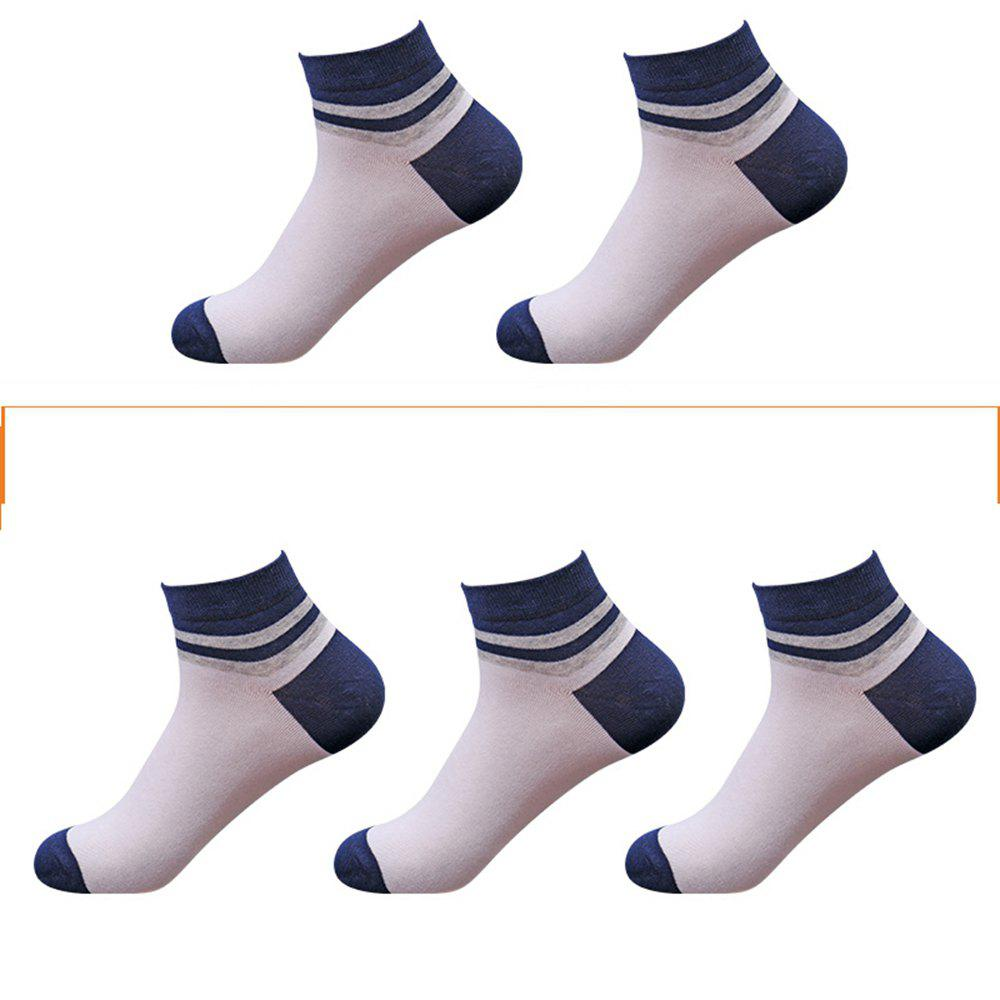 Outfits Casual Men Can Wear 5 Pairs of Cotton Socks in Four Seasons
