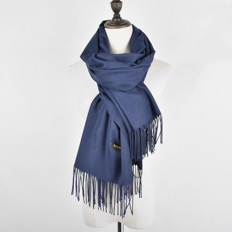 33c20790d6d Fashion Women Scarves Cashmere Solid Tassel Comfortable And Elegant Shawl