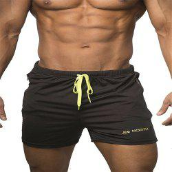 Short de compression pour homme SolidColor Gym Short -