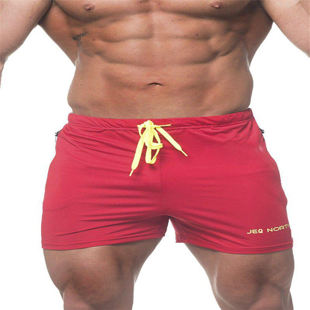 Sale Men'S SolidColor Gym Shorts Compression Short