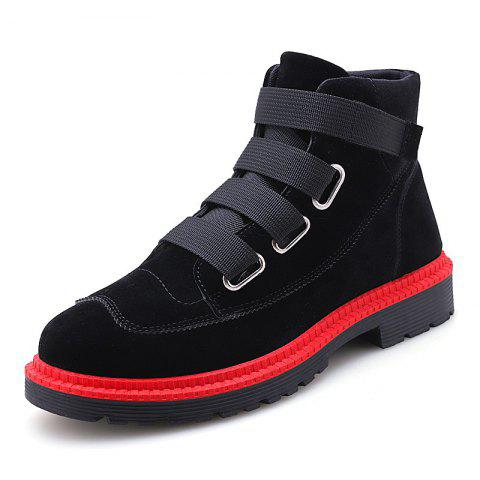 Men Boots Fashion Breathable  Lace Up Shoes Sneakers