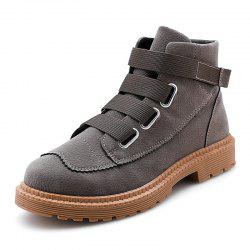 Men Boots Fashion Breathable  Lace Up Shoes Sneakers -