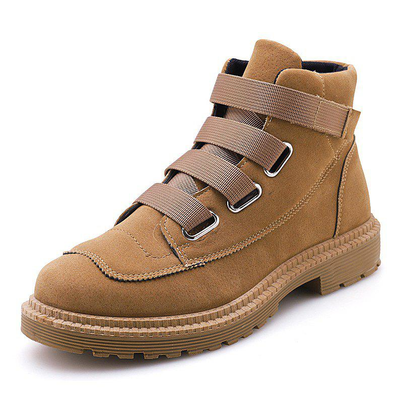 Latest Men Boots Fashion Breathable  Lace Up Shoes Sneakers