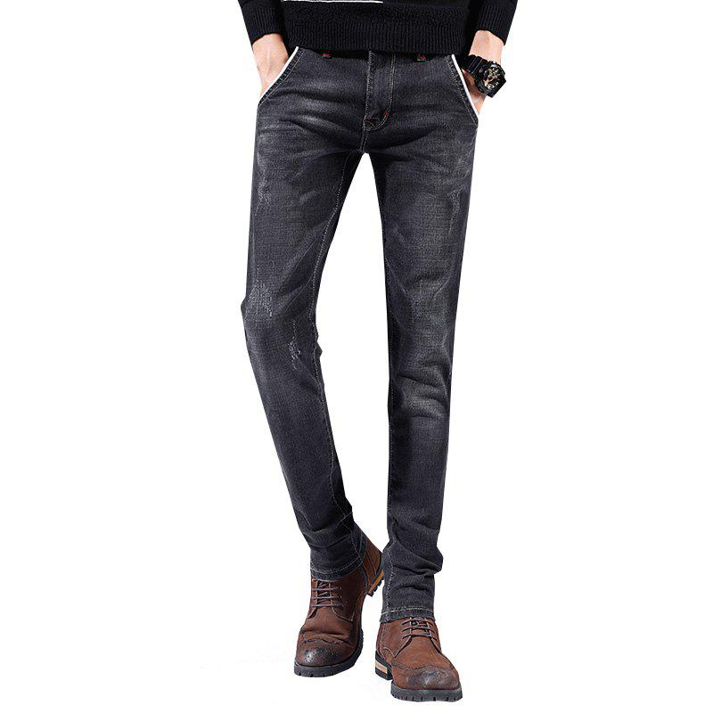 Fancy Men'S Pants Casual Pants Sports Pants Straight Pants Working Party Outing Pants