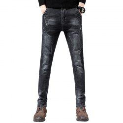Men'S Fashion Trend Casual Pants Slim Street Party Pants Field Sports Trousers -