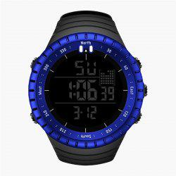SENORS Men's Sporty Watch Waterproof Big Dial Multi-function Electronic Watch Ac -