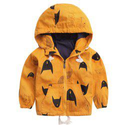 Fleece Jackets For Boy Trench Children'S Clothing Hooded Outerwear -