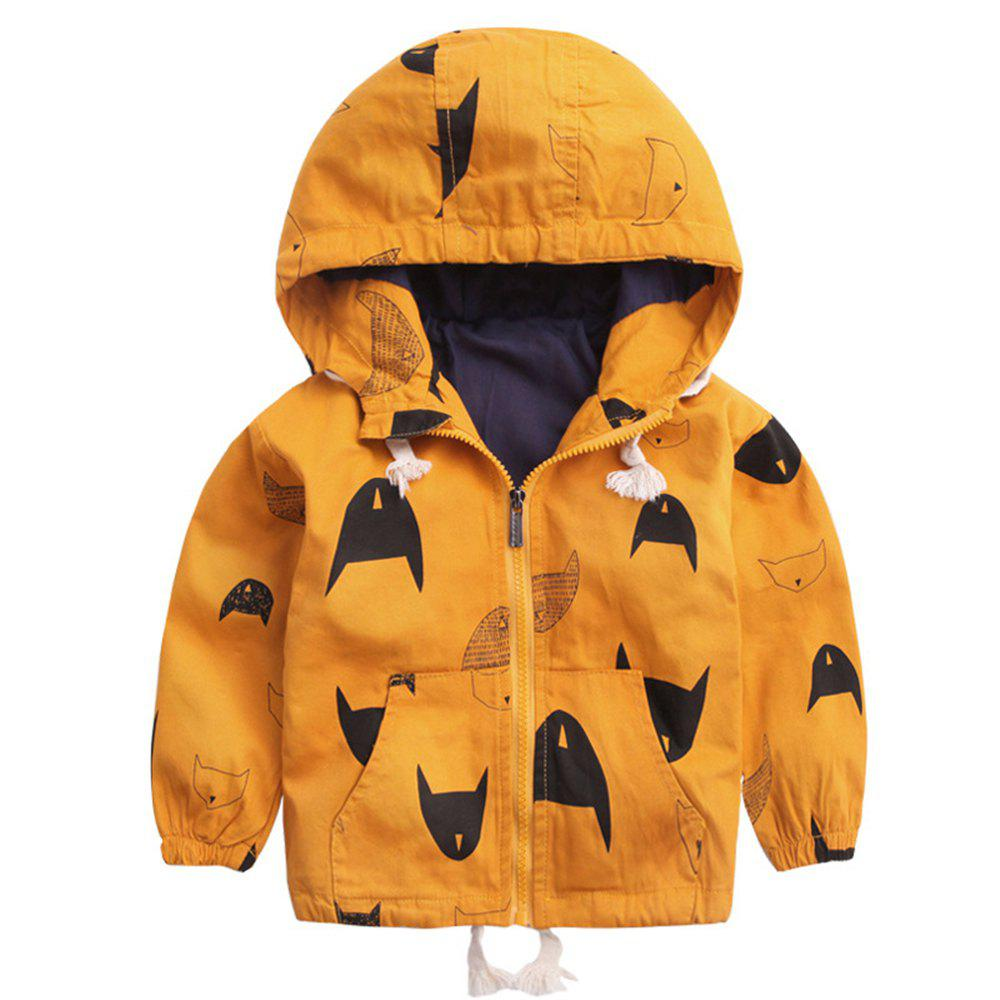 Sale Fleece Jackets For Boy Trench Children'S Clothing Hooded Outerwear