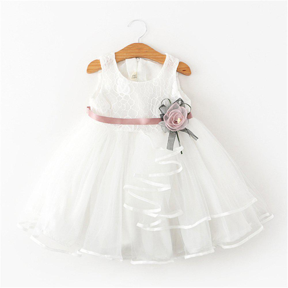 3c4e8384b Discount Baby Flower Dress Party Clothing For Christening Gown Toddler  Petals Decoration. 0