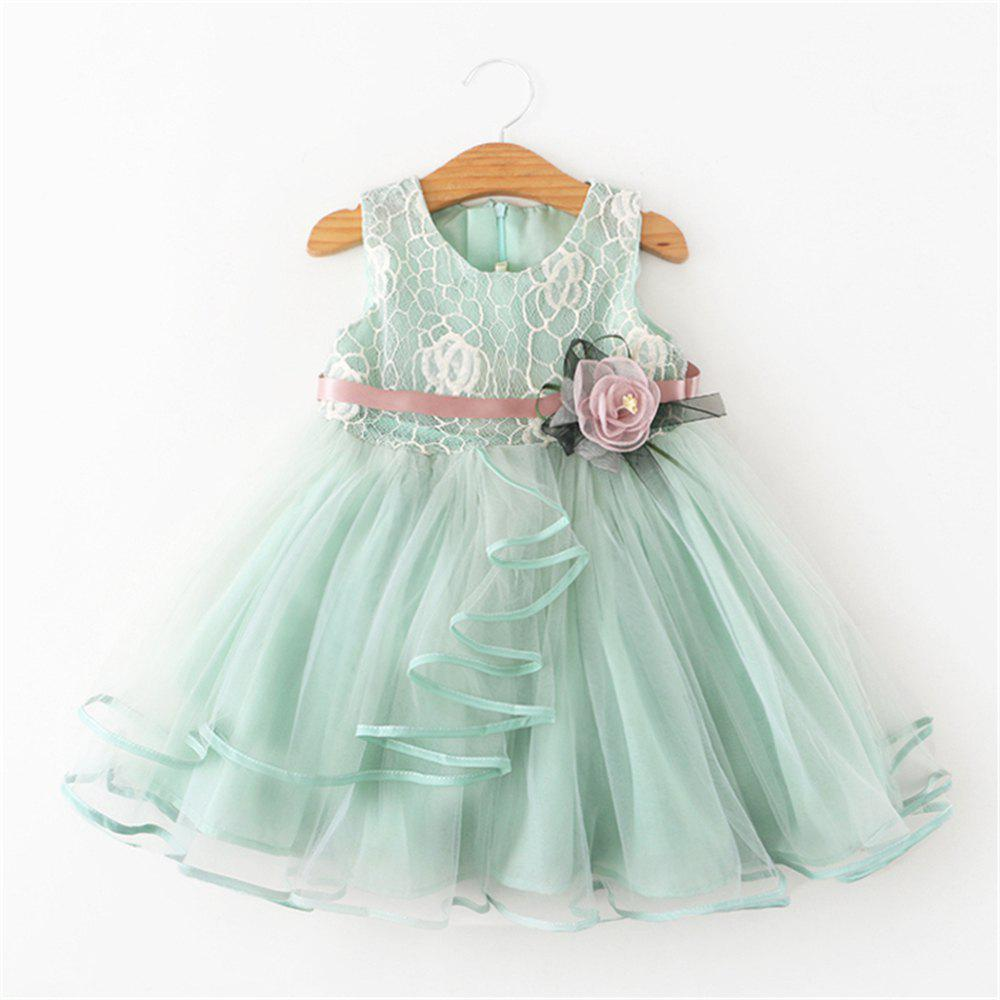 3ecd0ee1c Outfits Baby Flower Dress Party Clothing For Christening Gown Toddler  Petals Decoration
