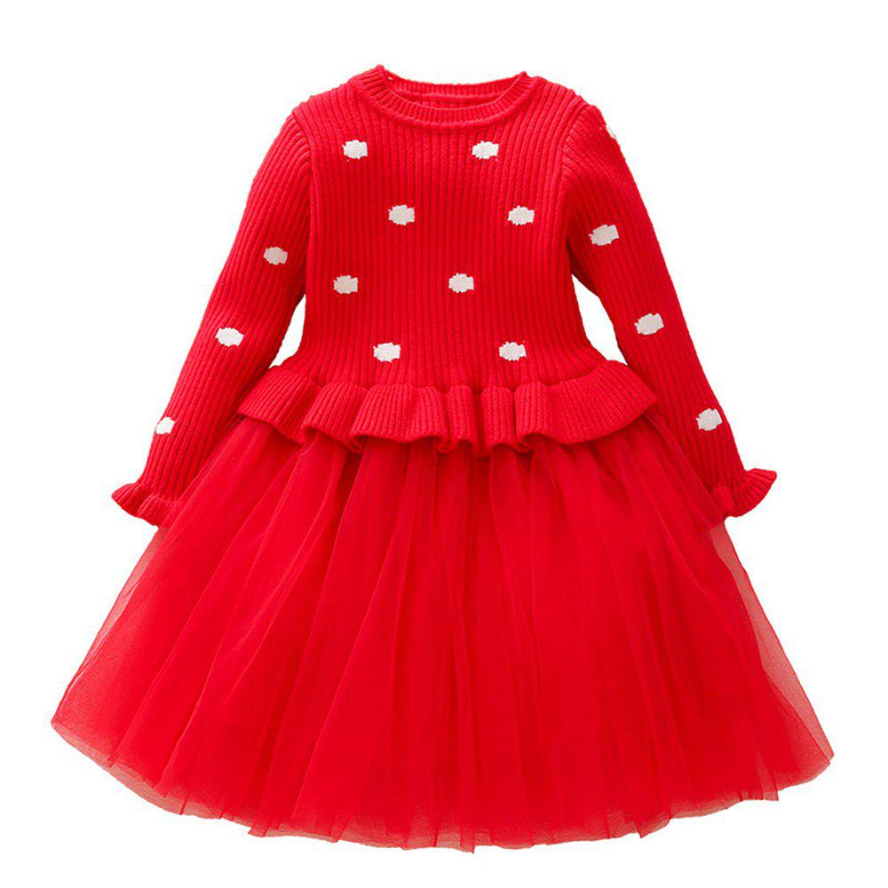 f859beed1 Store Baby Dresses for Girls Birthday Long Sleeves Princess Dress Baptism  Gown