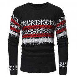 Men's Fashion Hooded Long Sleeved Body Knitted Sweater -