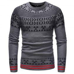 Men'S Leisure Long Sleeved Sweater -