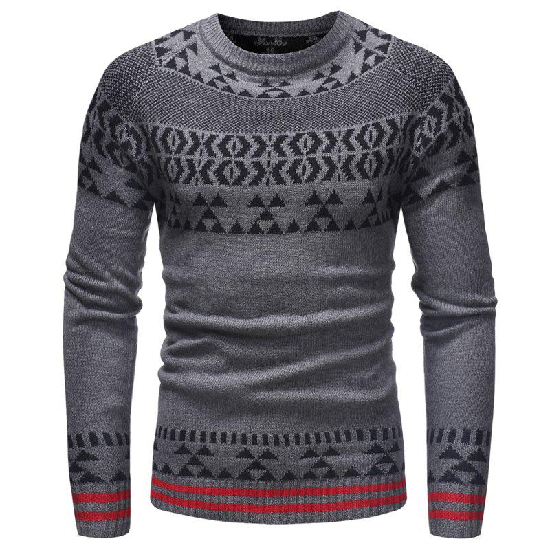 Online Men'S Leisure Long Sleeved Sweater