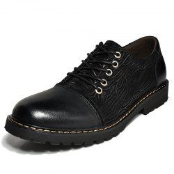 Leather Business Formal Men Trend Casual Shoes -