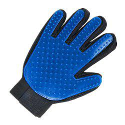 Pet Hair Comb Pet Grooming Cleaning Glove left Right Hand Hair Removal Brush -