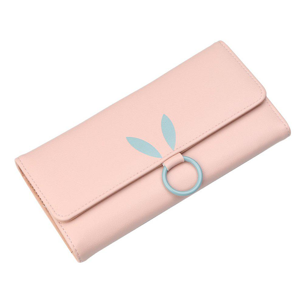 Outfit Women's wallet multi-card long wallet simple large-capacity coin purse
