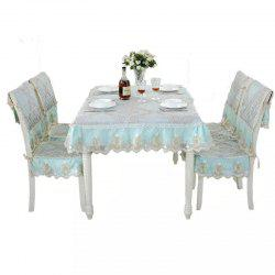 Home Coffee Table Tablecloth European Long Table Dining Table Tablecloth -