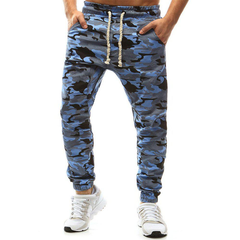 Shop New High Quality Jogger Camouflage Gyms Pants Men Fitness Bodybuilding Gyms Pant