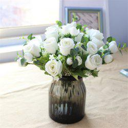 10HEADS Rose Artificial Flowers Party Wedding Home Decorations -