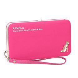 Multi-Function Mobile Phone Lunch Box Ladies Wallet Long Pencil Purse -