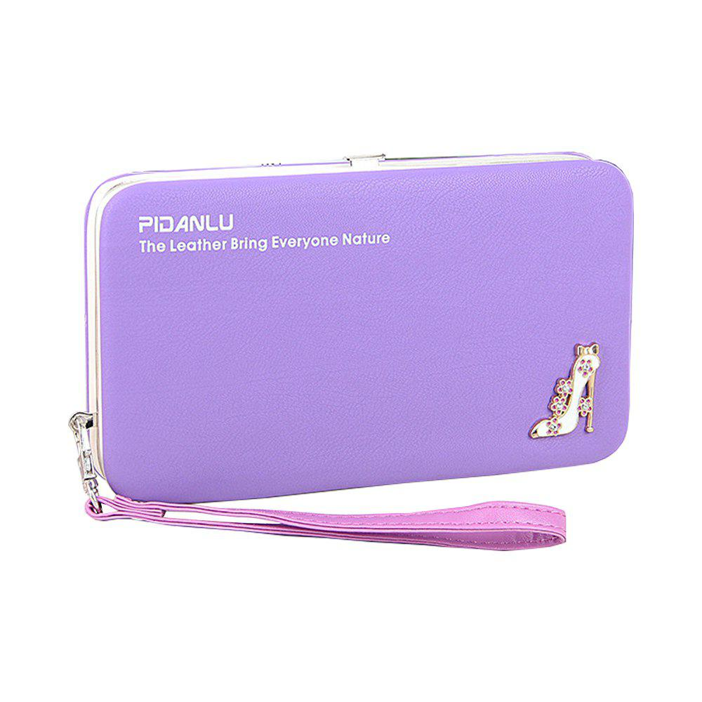 Trendy Multi-Function Mobile Phone Lunch Box Ladies Wallet Long Pencil Purse