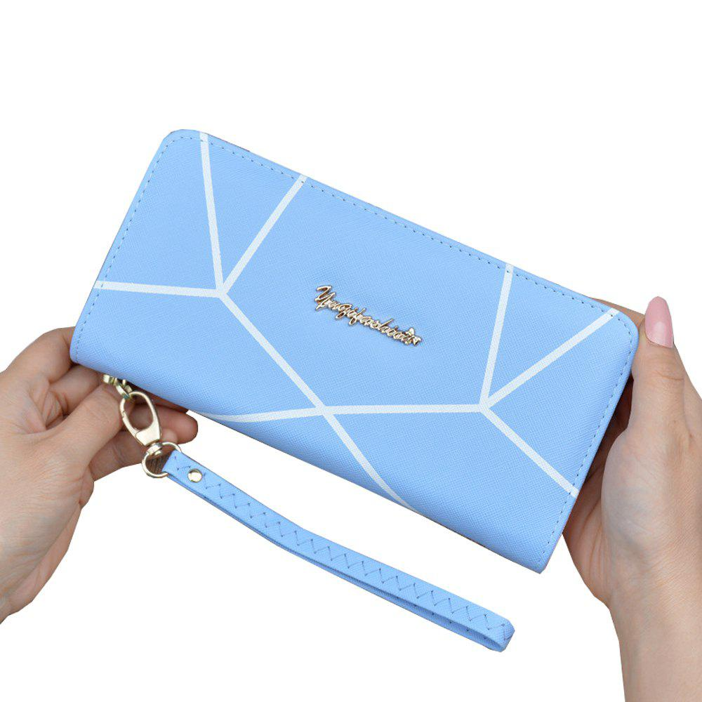 Buy Wallet Ladies Long Zipper Portable Wallet Student Fashion Large Capacity Clutch