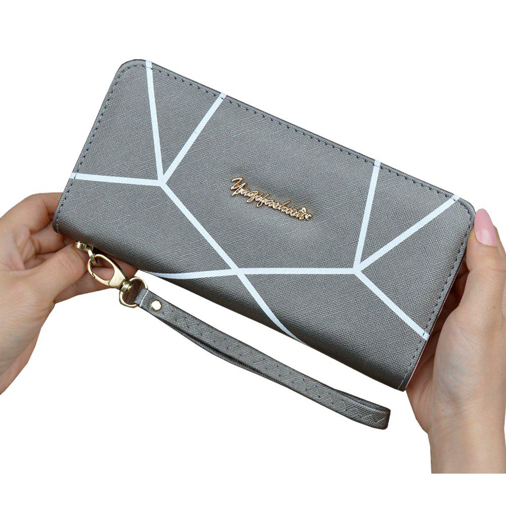 Best Wallet Ladies Long Zipper Portable Wallet Student Fashion Large Capacity Clutch