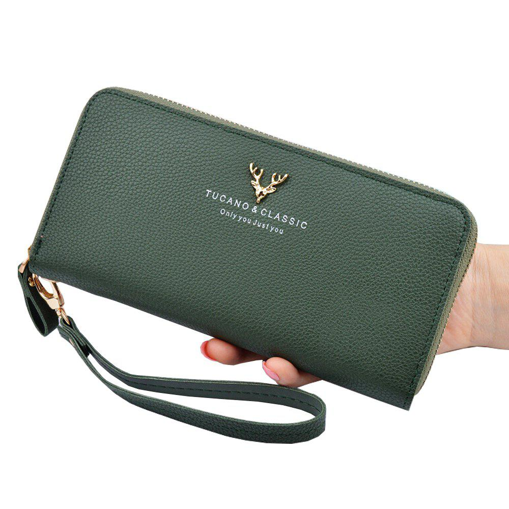 Hot New Ladies Wallet Long Zipper Large Capacity Clutch Bag Fashion Women'S Wallet