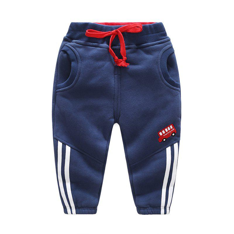 Shop Boy'S Trousers Cotton Winter 2018 Baby'S Trousers Thickened Children