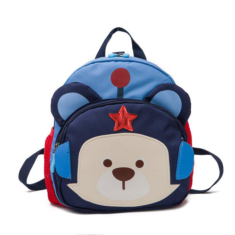 Online Two Color Cute Cartoon Bear Children Backpack
