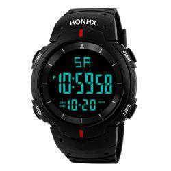 HONHX Fashion Men's LED Camping Out Digital Military Luxury Sport Date Watch -