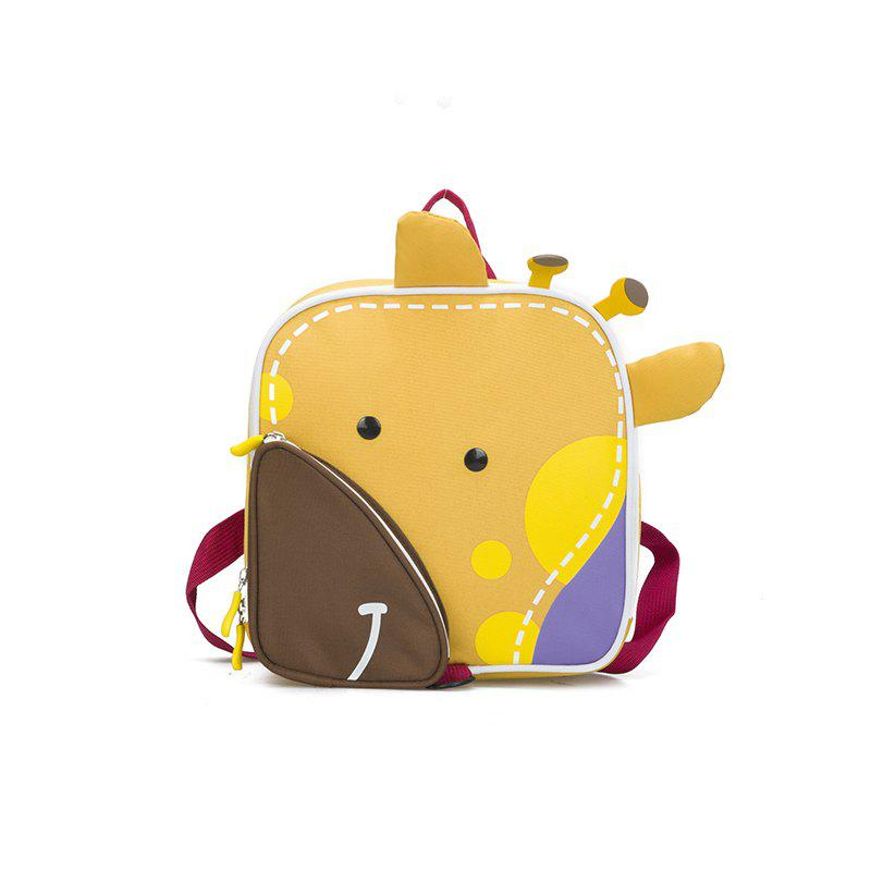 Outfit Four-color Cute Cartoon Children's Backpack
