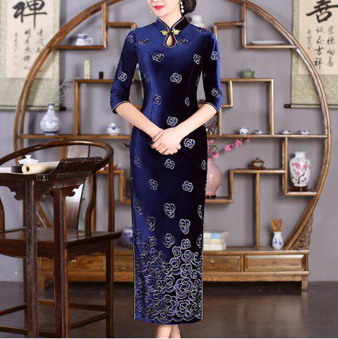 Chinese Aristocratic Style Fashion Slim Female Cheongsam