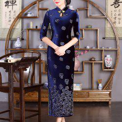 Chinese Aristocratic Style Fashion Slim Female Cheongsam -