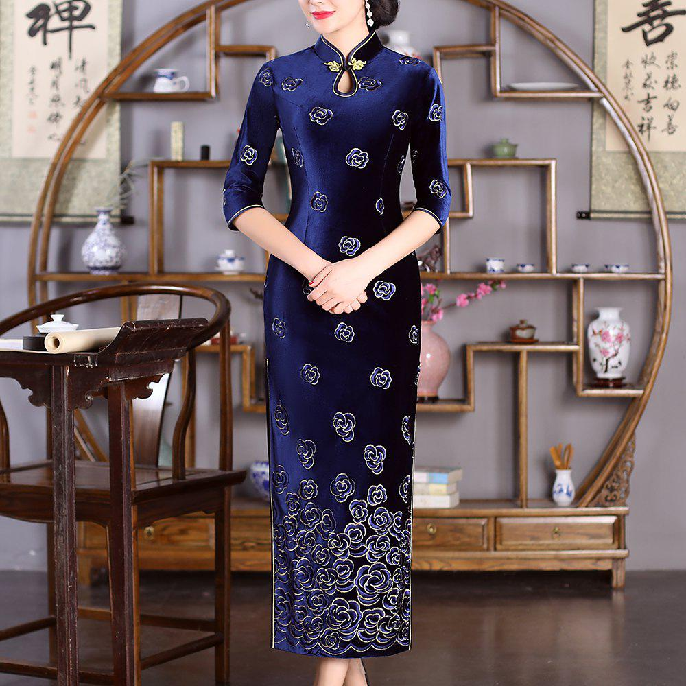 Affordable Chinese Aristocratic Style Fashion Slim Female Cheongsam